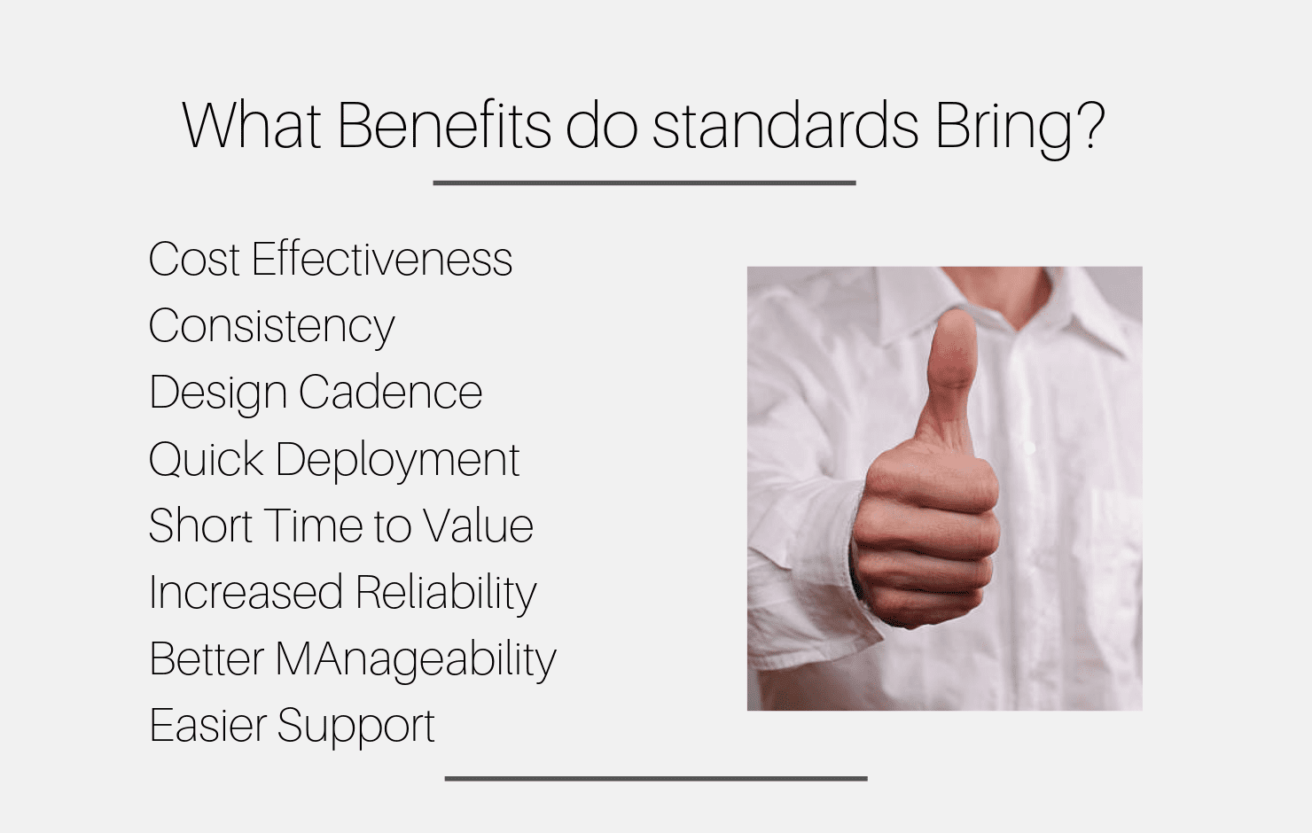 Standards definition