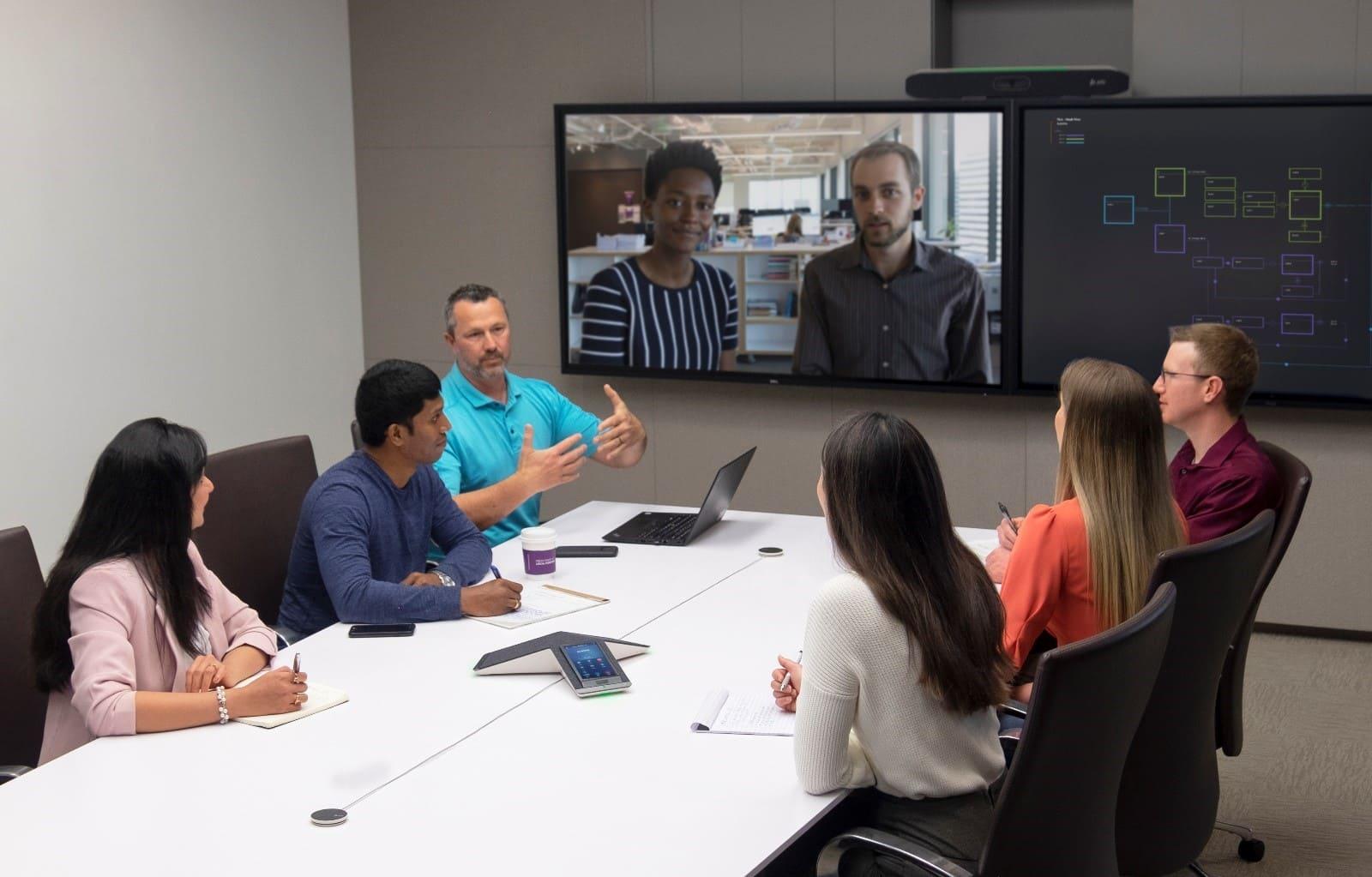 Twenty years of videoconferencing
